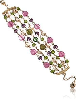 The Sak Multi Row Beaded Strand Bracelet
