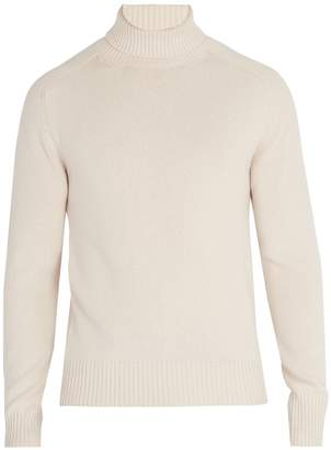 Tomas Maier Roll-neck cashmere sweater
