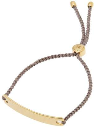 Monica Vinader Gold-Plated Mink Cord Havana Friendship Bracelet