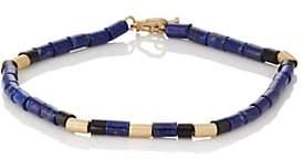 Luis Morais Men's Beaded Bracelet - Blue