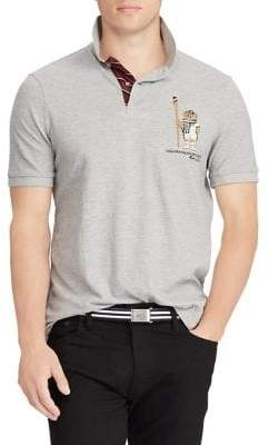 Polo Ralph Lauren Classic Fit Bear Polo Shirt