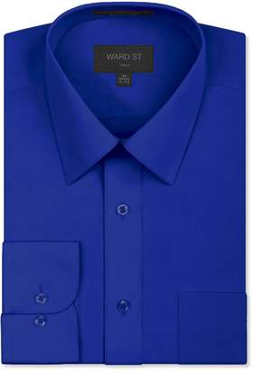 Ward St Men's Regular Fit Dress Shirts, 2XL, 18-18.5N 36/37S