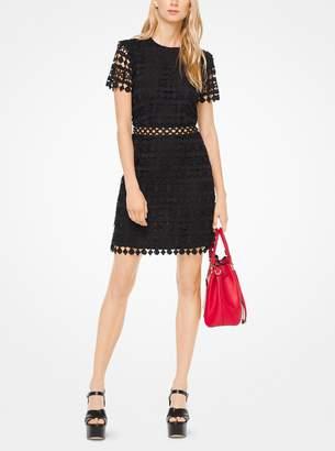 MICHAEL Michael Kors Geometric Floral Lace Dress