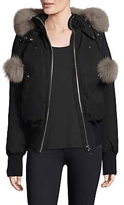 Moose Knuckles Women's Fox Fur-Trimmed Jacket
