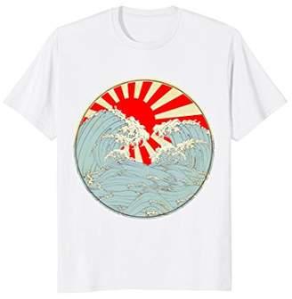 The Great Japanese T Shirt Wave off Kanagawa Vintage Art