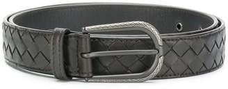 Bottega Veneta tourmaline Intrecciato nappa belt