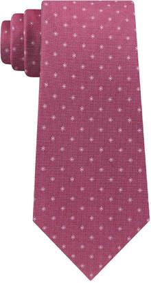 Calvin Klein Men's Mini Oxford Square Slim Silk Tie
