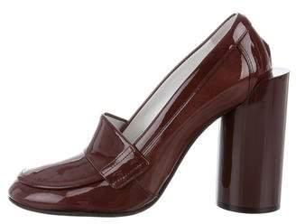 Maison Margiela Patent Leather Round-Toe Pumps w/ Tags