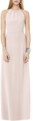 Women's Social Bridesmaids Matte Chiffon Gown $176 thestylecure.com