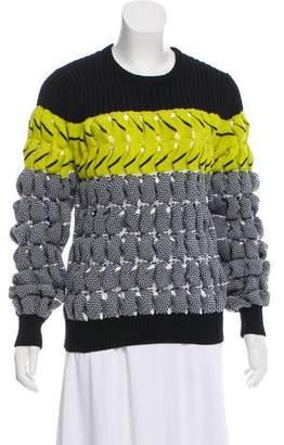 Alexander Wang Textured Open Knit Sweater