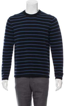 Vince Striped Crew Neck Sweater w/ Tags