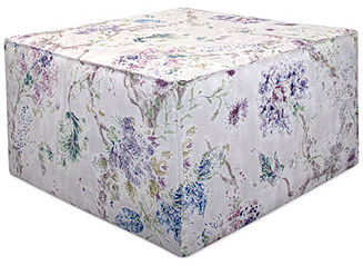 Reedley French Seam Millie Fabric Ottoman, Direct Ship
