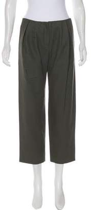 Devi Kroell Mid-Rise Straight-Leg Pants