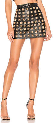 For Love & Lemons Deco Stud Skirt