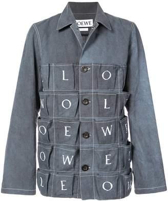 Loewe brand letters jacket