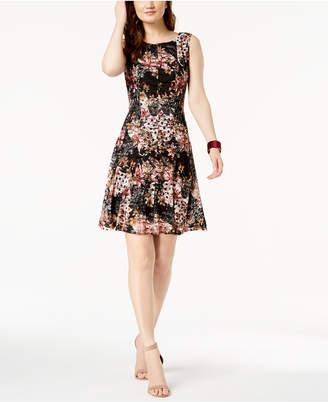 Connected Petite Lace Shift Dress