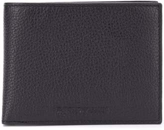 Emporio Armani logo bifold wallet