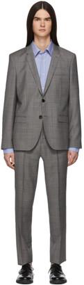 HUGO Grey Check Arti/Hesten Suit