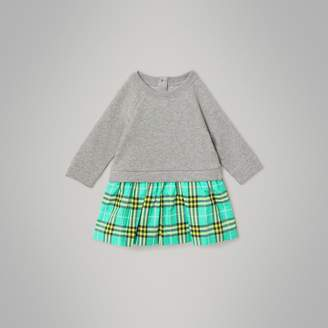 2c6b9b1757cd Burberry Check Skirt Dress - ShopStyle UK