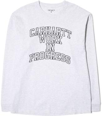 Carhartt W.I.P. L/S WIP DIVISION EMBROIDERED T-SHIRT