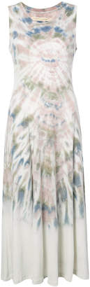 Raquel Allegra tie dye vest dress