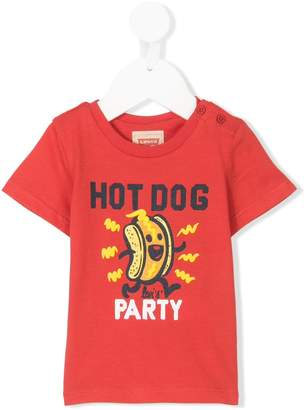 Levi's Kids hot dog print T-shirt