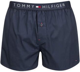 Tommy Hilfiger Men's Icon Cotton Woven Boxer Shorts