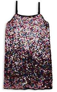 Milly Minis Girl's Sequin Slip Dress