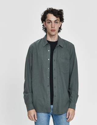 Our Legacy Classic Silk Noil Button-Up Shirt