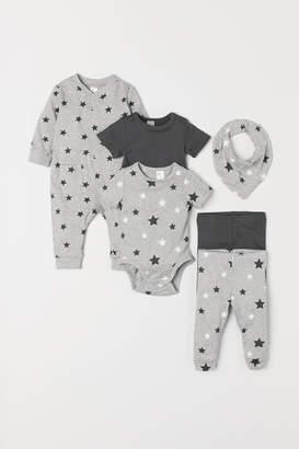 H&M 6-piece jersey set