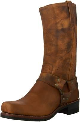 Frye Men's Harness 12R Boot,Dark Brown-87350