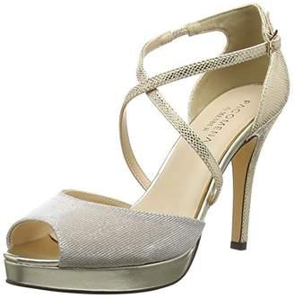 Paco Mena Women's Centaurea Open Toe Sandals Beige Size: 7