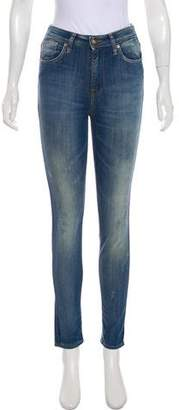 PRPS Mid-Rise Skinny Jeans