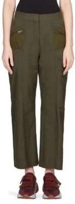 Stella McCartney Suede Trim Trouser