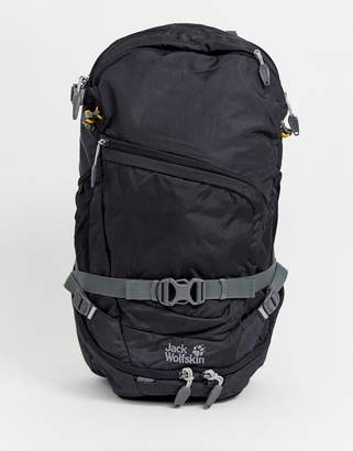 Jack Wolfskin Crosser 26 Backpack In Black