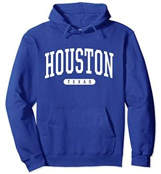 Houston Hoodie Sweatshirt College University Style TX USA