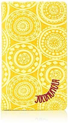 Jocomomola (ホコモモラ) - [ホコモモラ] カードケース 「アニージョ」カードケース 5381404 52 イエロー