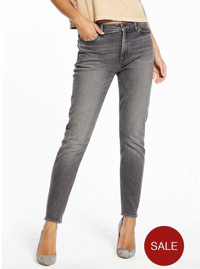 High Rise Slim Jean - Cavern