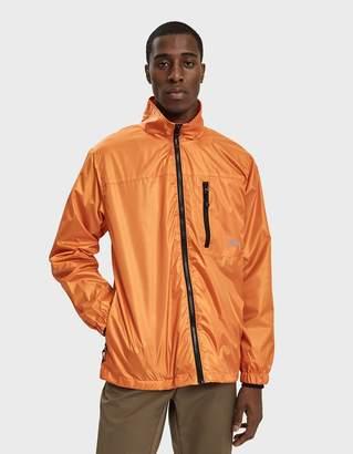 Stussy Micro Ripstop Jacket in Orange