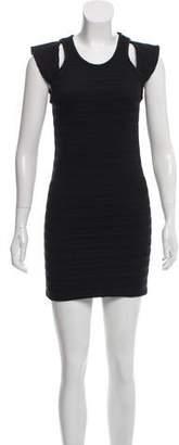 IRO Smocked Mini Dress