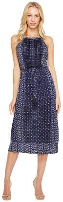 Lucky Brand Printed Knit Dress Women's Dress