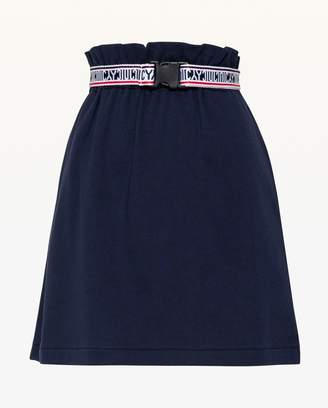Juicy Couture JXJC Belted Track Skirt