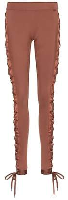Rihanna Fenty by Boxing & Bomber lace-up leggings