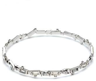 Alexis Bittar Crystal Baguette Bangle Bracelet