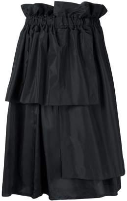 Comme des Garcons (コム デ ギャルソン) - Comme Des Garçons Noir Kei Ninomiya asymmetric layered skirt