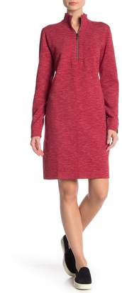 Tommy Bahama Marled Flip Side Half-Zip Dress