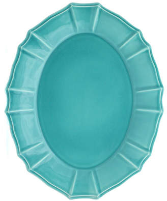 Chloé EuroCeramica Turquoise Oval Platter