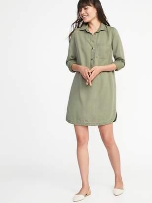 Old Navy Tencel® Shirt Dress for Women