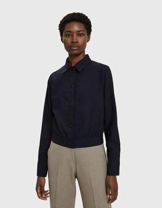 Lilith Toit Volant Button Up Top