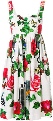 Dolce & Gabbana floral summer dress
